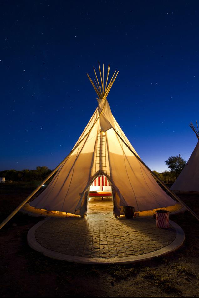 Camping Beds For Tents >> Safari Tents - El Cosmico